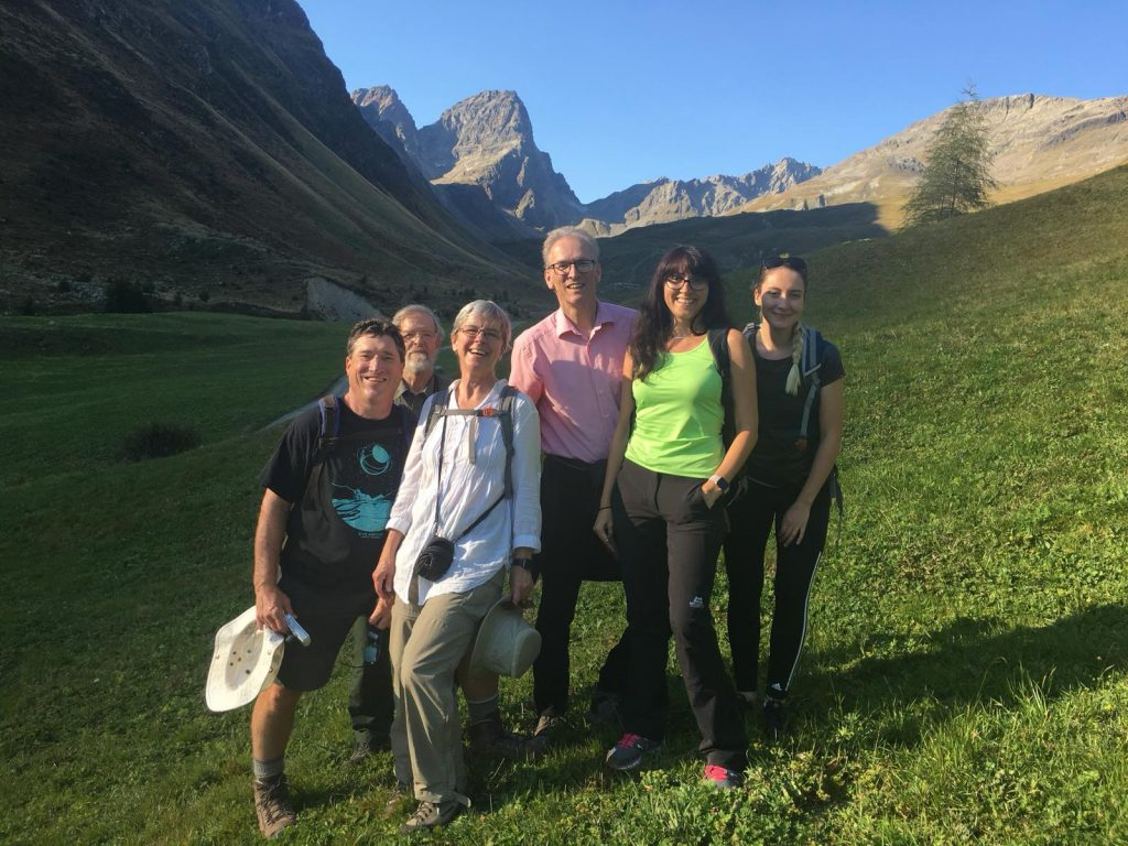 CMS in the Swiss mountains - Guarda meeting 2018