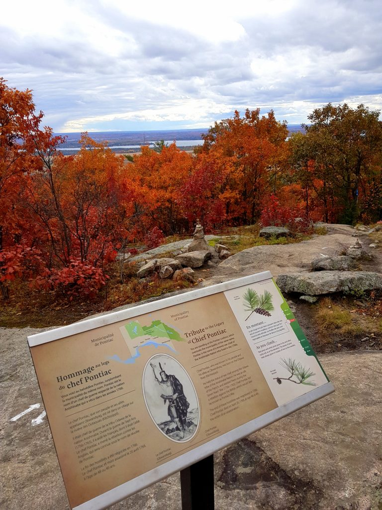 Pontiac Lookout on the Luskville Trail