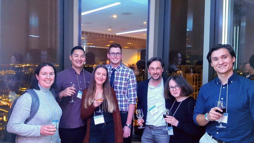 The team enjoying the OttawaNMD 2019 reception